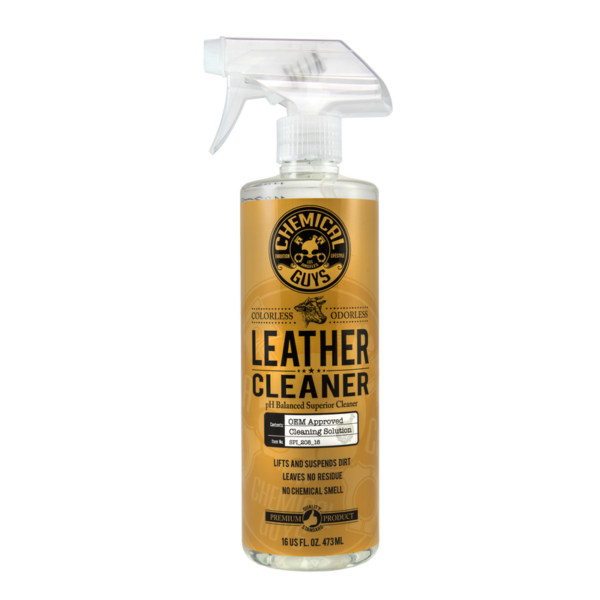 Chemical Guys Leather Cleaner - Colorless & Odorless Super Cleaner