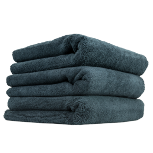 Monster Edgeless Black Microfiber Towel