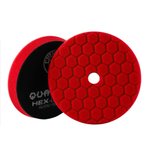 Chemical Guys Hex-Logic Quantum Red Ultra-Fine Finishing Pad 5.5 Inch